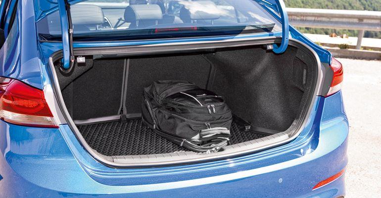 Объём багажника Хендай Элантра