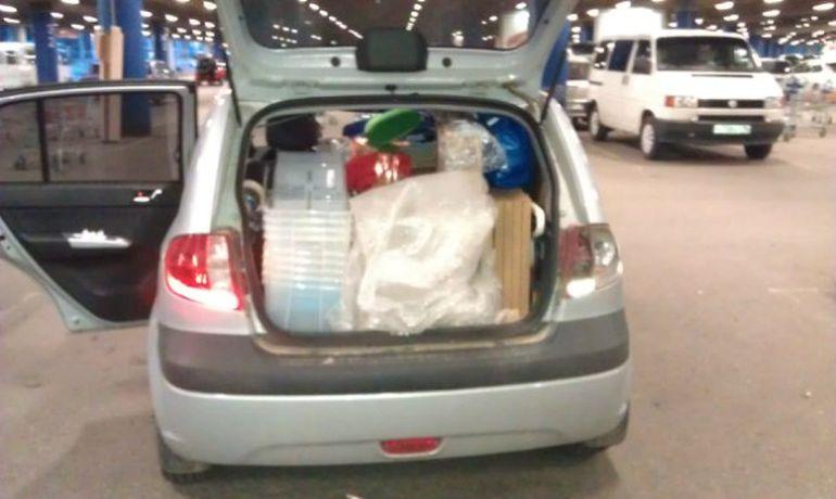 Объём багажника Хендай Гетц