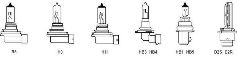 Лампы для Хендай Акцент