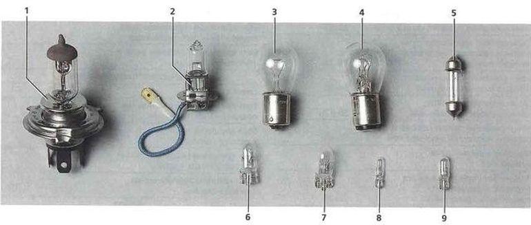 Лампы для Дэу Матиз