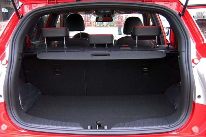 Объём багажника СсангЙонг Тиволи