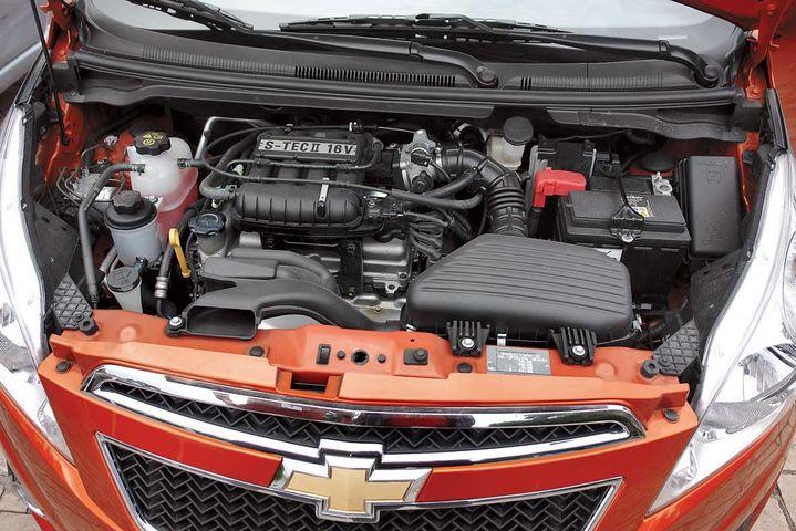 Объём двигателя Шевроле Спарк