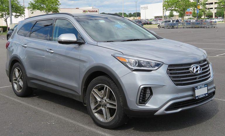 Размер дворников Hyundai Santa Fe