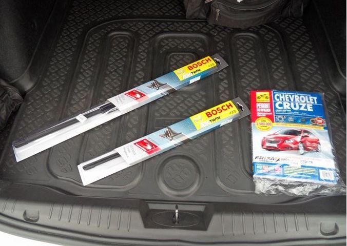 Щетки стеклоочистителя на Chevrolet Cruze