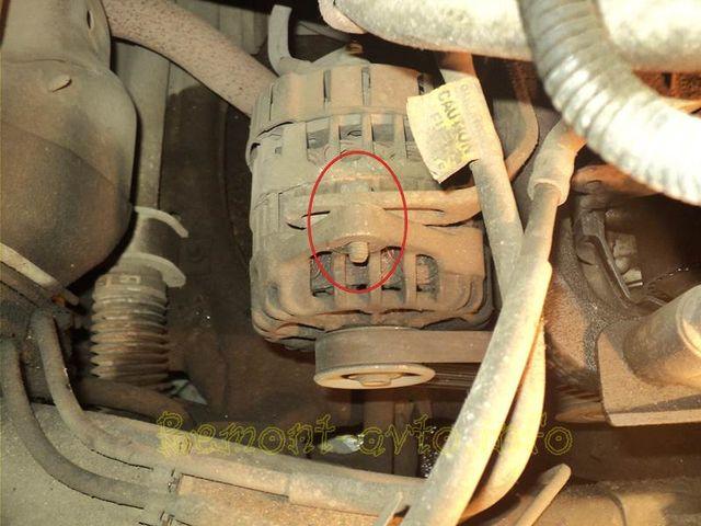 Замена ремня генератора Шевроле Авео