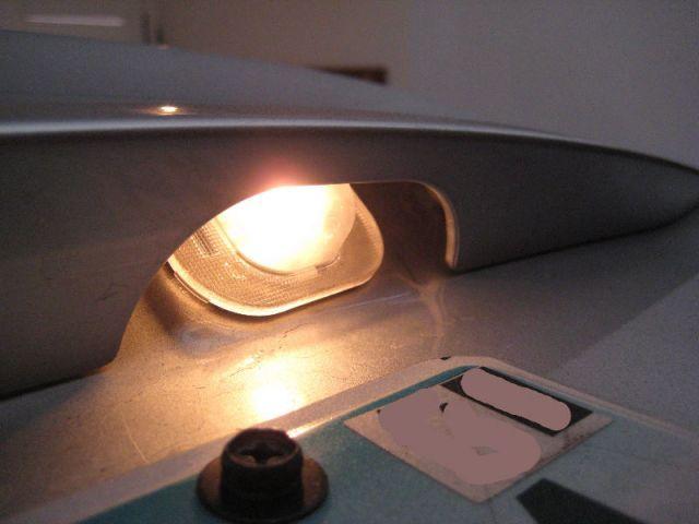 Замена ламп подсветки номера Солярис