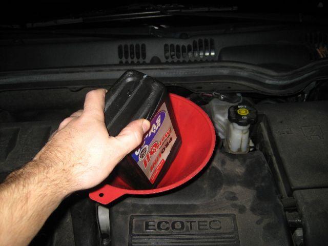 Замена масла двигателя Шевроле Кобальт