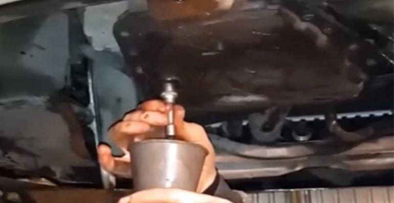 Замена масла в АКПП Шевроле Лачетти