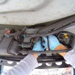 Замена топливного фильтра Шевроле Кобальт