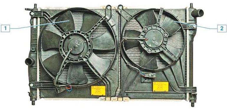 Система охлаждения двигателя Шевроле Ланос