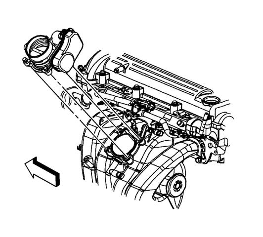 Замена впускного коллектора Шевроле Каптива