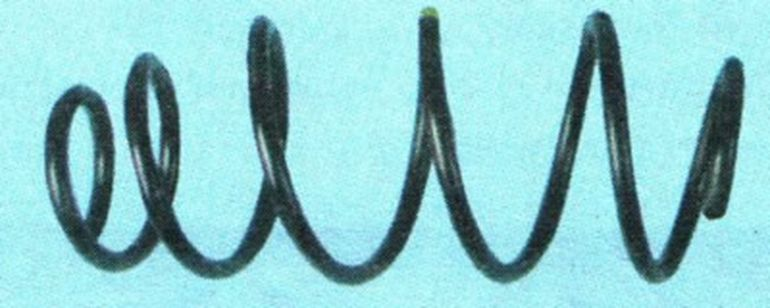 Замена задних пружин подвески Шевроле Авео