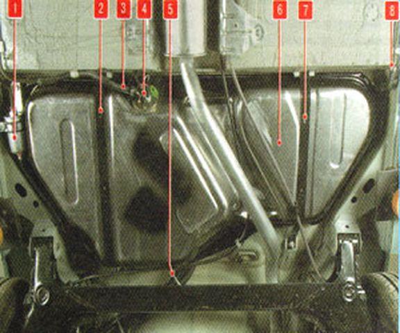 Схема топливной системы Дэу Нексия