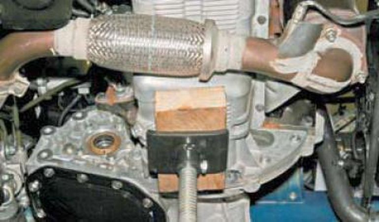 Замена механической коробки передач Шевроле Лачетти