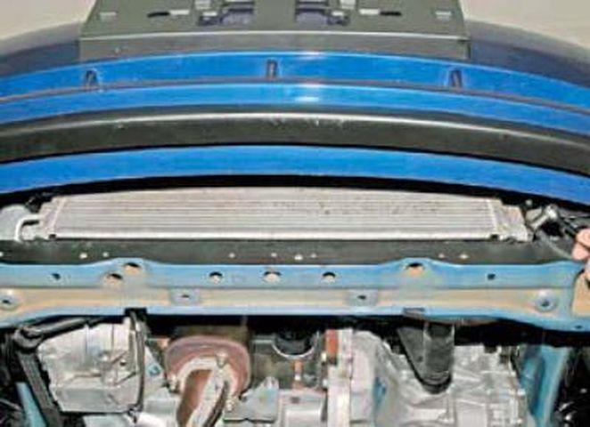 Замена радиатора системы охлаждения Шевроле Лачетти