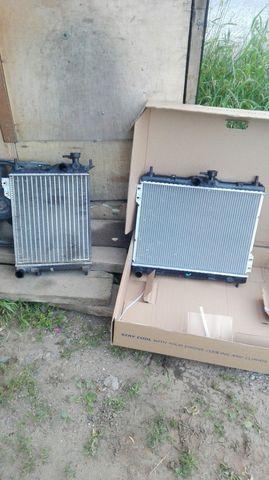Замена радиатора системы охлаждения Хендай Гетц
