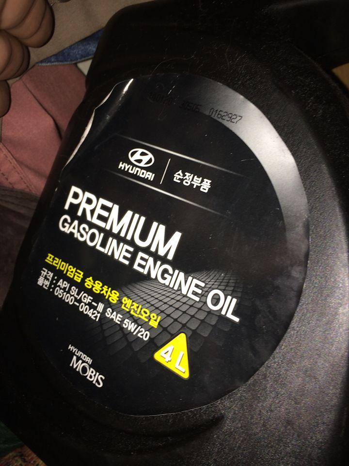 Какое масло заливать в двигатель Хендай Гетц