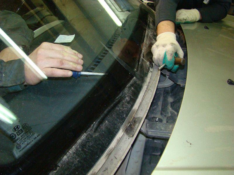 Замена лобового стекла Хендай Туксон
