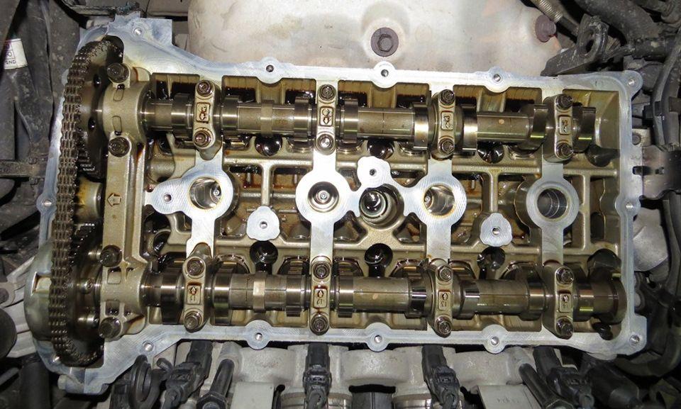 Замена прокладки клапанной крышки двигателя Соната