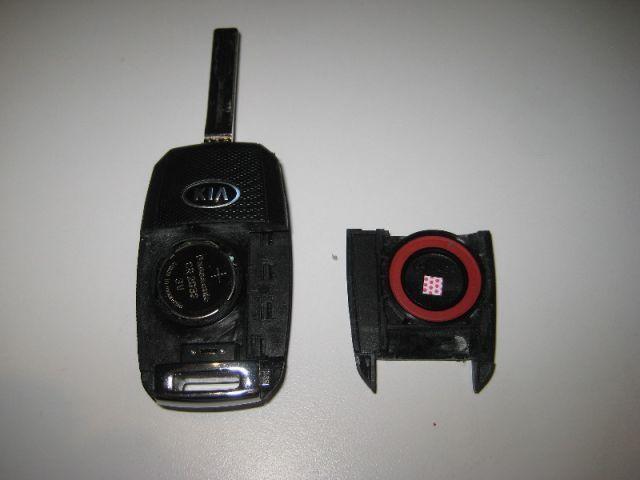 Замена батарейки в брелке Киа Оптима