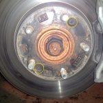 Замена передних тормозных дисков КИА Сид