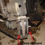 Замена передних тормозных колодок Киа Пиканто