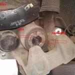 Замена задних тормозных колодок КИА Церато