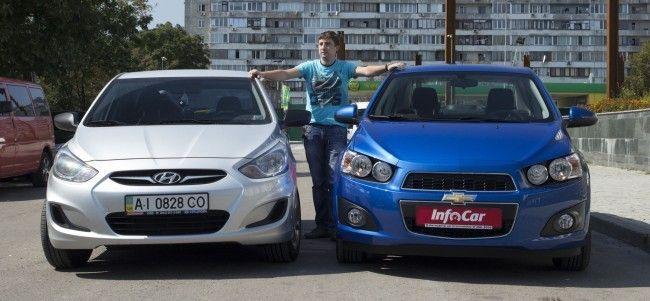 Chevrolet Aveo или Hyundai Accent