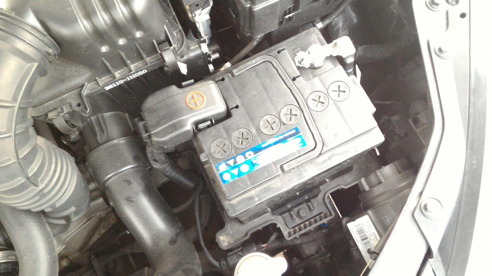 Генератор не дает зарядку Хендай I30
