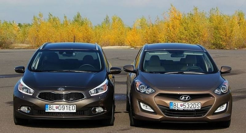 Hyundai i30 притив Kia Ceed