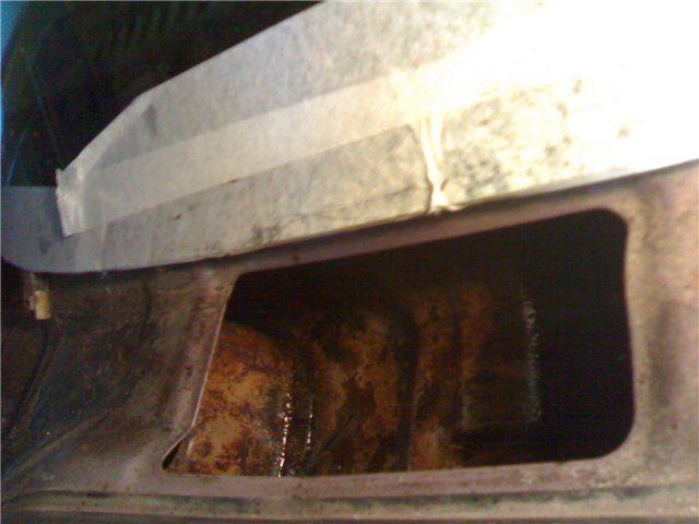 Вода в багажнике Хендай Акцент