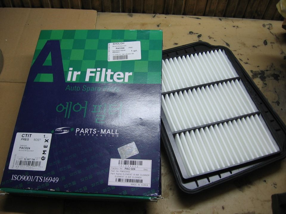 Воздушный фильтр Дэу Джентра
