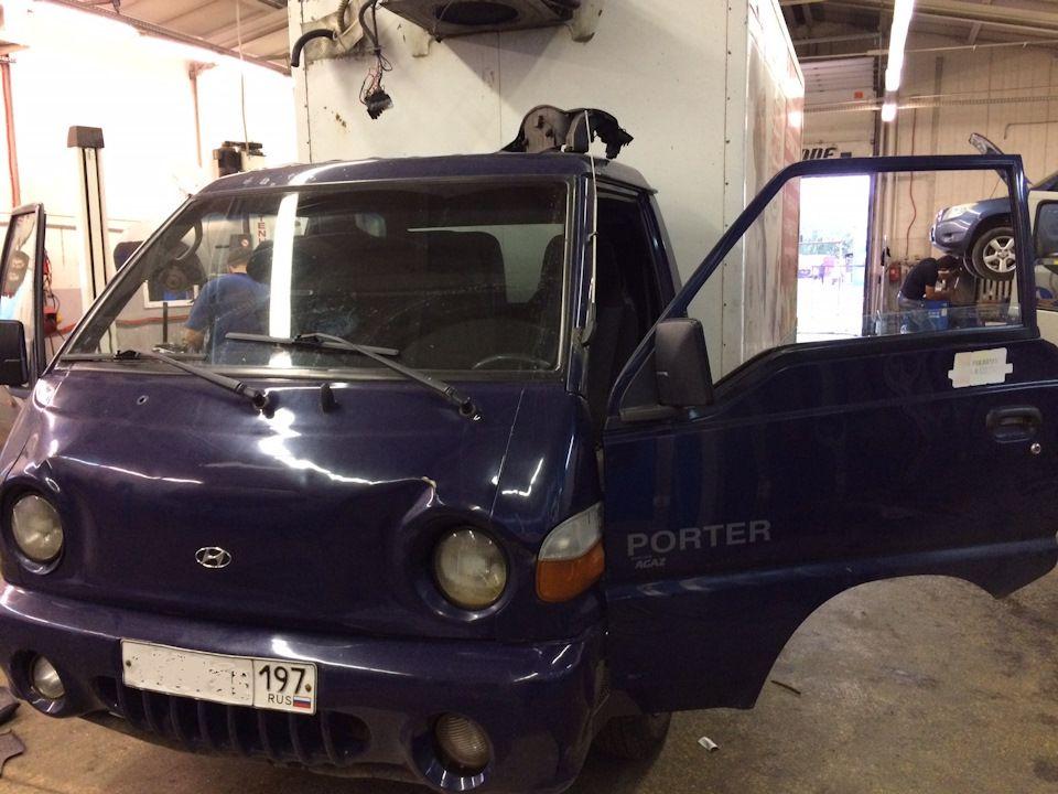 Разборка автомобиля ХендайПортердля замены радиатора отопителя