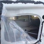 Снимаем влагозащитную пленку Hyundai Accent
