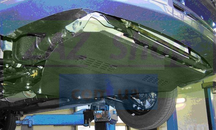 Снимаем нижнюю защиту двигателя Chevrolet Aveo