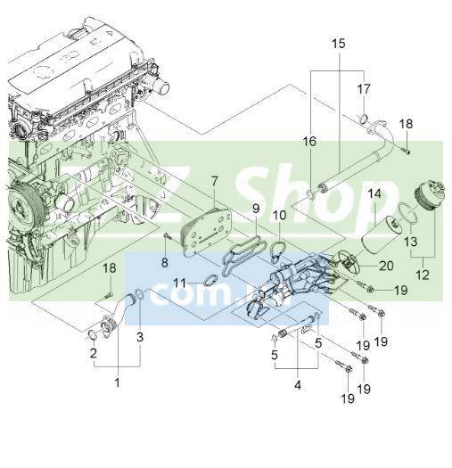 Конструкция двигателя Chevrolet Aveo