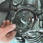 Демонтируем диск Chevrolet Aveo