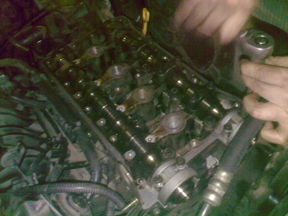Ремонт головки блока Chevrolet Lacetti своими руками