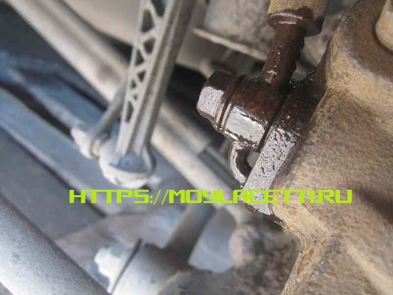 Ремонт тормозного суппорта Chevrolet Lacetti