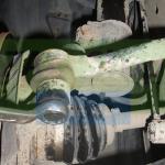 Откручиваем наконечник рулевой тяги Шевроле Лачетти