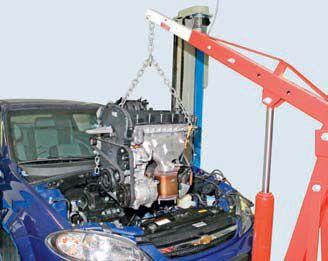 Замена двигателя Chevrolet Lacetti