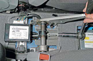 Замена элементов ручника Chevrolet Lacetti