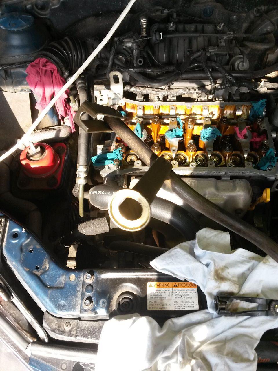 Замена гидрокомпенсаторов Chevrolet Lacetti