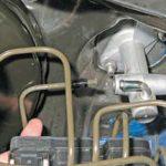 Замена главного цилиндра сцепления Chevrolet Lacetti