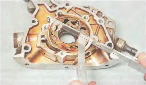 Промер масляного насоса Шевроле Лачетти