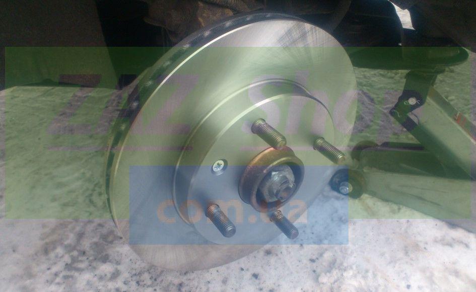 Устанавливаем новый тормозной диск Шевроле Лачетти