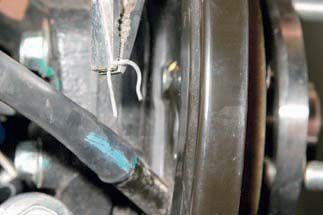 Замена тросов ручника Chevrolet Lacetti