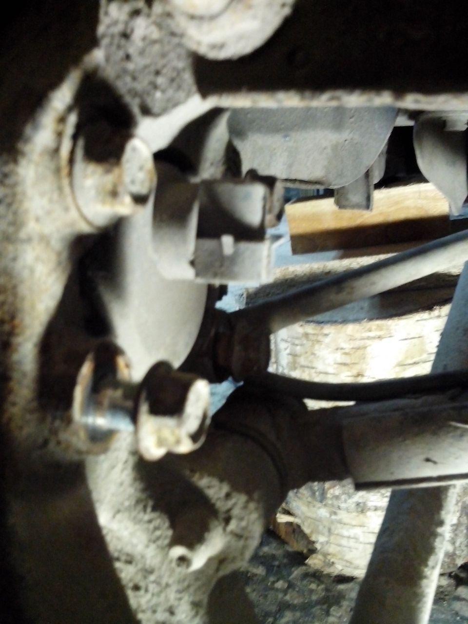 Замена задней ступицы Chevrolet Lacetti