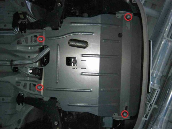 Защита двигателя Дэу Ланос