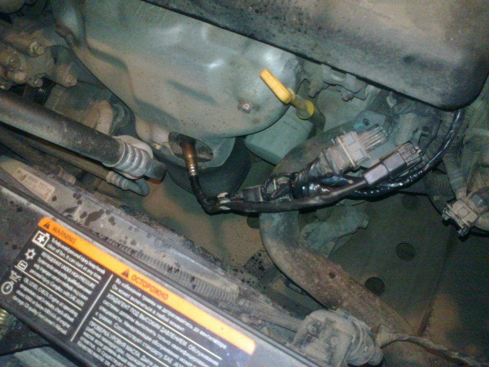 Замена датчика кислорода Chevrolet Cruze